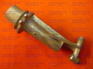 Корпус горелки плиты Брест-1457 малый (сапожок)
