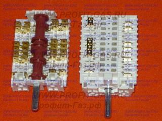 Переключатель мощности конфорки электроплиты Hansa. Заводской код 8011283/8062049