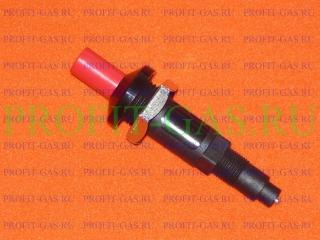 Кнопка пьезорозжига газовой колонки M18*1.5 (010284D)