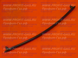 Ручка дверки духовки Гефест-2140, Гефест-2160, Гефест-3100, Гефест-3200 коричневая в стекло