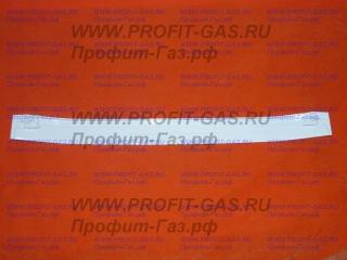 Ручка дверки духовки плиты Дарина GM141 белая