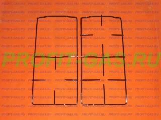 Решетка плиты Дарина КМ341 (комплект)