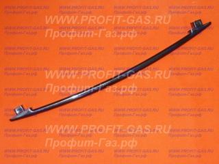 Ручка дверки духовки плиты KING1465, KING1467 черная