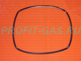 Резина уплотнительная дверки духовки Гефест 1502, GEFEST-1502 (О-образное 440*340мм)