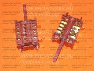 Переключатель мощности духовки на 5 режимов для электроплиты Гефест-120, GEFEST-420, GEFEST-2142, GEFEST-2162, GEFEST-3502 (820518)