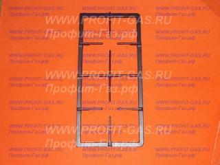 Решетка стола газовой плиты Gorenje GI438W чугун (половинка)