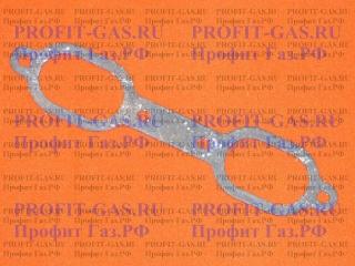 """Прокладка между литой горелкой и диффузором """"очки"""" для колонки НЕВА 3208, ВПГ-18, ВПГ-23"""
