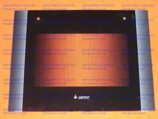 Стекло духовки наружное GEFEST-6300, GEFEST-6500 черное