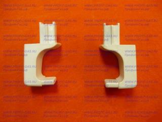 Крепление /кронштейн/ ручки дверки духовки Брест-1457 квадратное (пара)