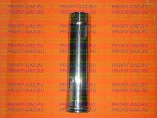 Труба d-140мм (AISI 430/0.5мм) L-0.5м