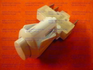 Кнопка розжига газа для плиты Дарина овальная белая ПКН-506-111
