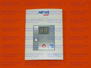 Накладка с платой дисплея для газовой колонки NEVA LUX 6014