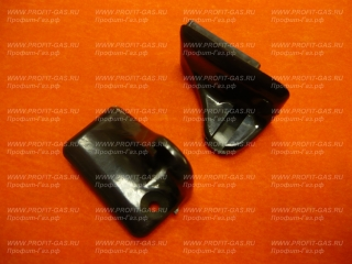 Крепление /кронштейн/ стеклянной крышки плиты GEFEST коричневое (пара)