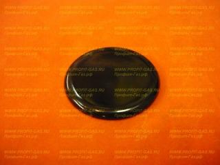 Крышка малой горелки конфорки плиты Гефест-1100, Гефест-1200, Гефест-1300, Гефест-3100, Гефест-3200, Гефест-3300 (с 2004г.в.)  (1100.00.0.175-02)