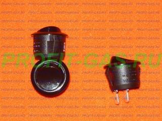 Кнопка выключатель освещения духовки Mora коричневая
