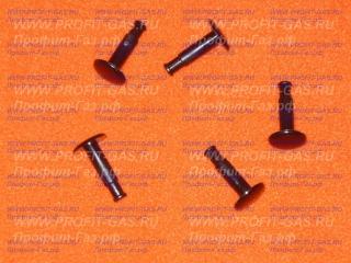Кнопка электронного таймера плиты GEFEST 5100, 5500, 6100, 6300, 6500 коричневая