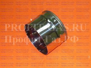 Заглушка для ревизии (AISI 430/0.5мм) d-160мм внутренняя