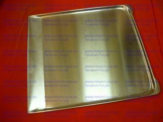 Противень в духовку для плиты Брест-1457,Гефест-1100, Гефест-1200, Гефест-1300, Гефест-1140, Гефест-1500, Гефест ДА102 алюминий (385 * 421мм)