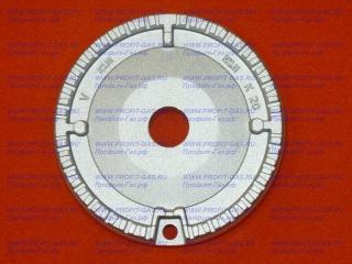 Горелка конфорка большая GEFEST-1500, GEFEST-3500, GEFEST-6100, GEFEST-6300, GEFEST-6500, GEFEST-CH1210, GEFEST-1211, GEFEST-2120, GEFEST-2230 SABAF