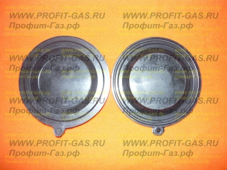 Мембрана к газовой колонке NEVA-4011, NEVA-4510, NEVA-4511, NEVA-4513 черная до 2014 г.в.