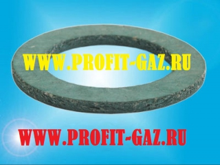 Прокладка горелки газовой колонки КГИ-56 паронит (33х22х2)