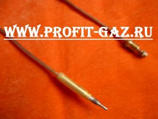 Термопара духовки газовой плиты Гефест-1100, Гефест-3100, GEFEST-3200, GEFEST-3500 длина 850 мм
