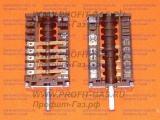 Переключатель духовки EGO 42.03000.031 для электроплиты Whirlpool с креплением под термостат