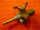 Кран средней горелки конфорки газовой плиты Гефест 1100, GEFEST 1200 (диаметр сопла 44)