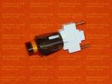 Кнопка подсветки духовки для плит Гефест овальная белая ПКН-507