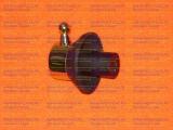 Ручка крана газовой плиты GEFEST-5100-02 0082 черная с золотом