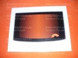 Стекло духовки наружное Гефест-3100 (497х396 мм) белое с термоуказателем