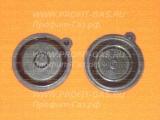 Мембрана диафрагма для газовой колонки Termet ПГ-6 малая с ушком черная