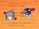 Термореле /термостат/ KSD301 070°С 10A 250V (нормально-замкнутый, LBHL)