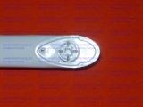 Ручка дверки духовки Гефест-1100, Гефест-1140, Гефест-1200, Гефест-ДА122 в стекло белая