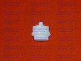 Кнопка ТУП плиты Гефест 1100, 1200, 1500, 3100, 3200 белая длинная ножка