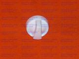 Ручка крана конфорки плиты Дарина GM442-26-020 белая, длинная ножка
