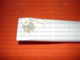 Ручка дверки духовки Гефест-1300, Гефест-1500, Гефест-3300, Гефест-3500, Гефест-5100, Гефест-6100, Гефест-6300, Гефест-6500, Гефест-ДА602 бежевая