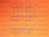 Нагревательный элемент ТЭН в духовку электроплиты Дарина ЕМ341, Дарина ЕМ331, Дарина ЕМ241 нижний