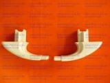 Крепление /кронштейн/ ручки дверки духовки Гефест овальное (пара)