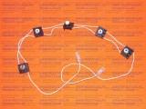 Блок кнопок автоматического электророзжига для плиты GEFEST 6102-03, 6102-04, 6502-03Д1А (WZ2/BY.4.100)