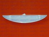 Ручка дверки духовки для плиты Гефест-100, Гефест-120, Гефест-420 белая