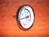Термометр стрелочный с латунной съемной  гильзой 1/2″ для газовых котлов ДОН, КОНОРД