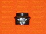 Кнопка ТУП Гефест-3100 (черная) короткая ножка