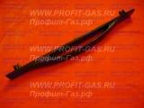 Ручка дверки духовки Гефест-2140, Гефест-3100, Гефест-3200 c 2000 по 2004г.в. белая