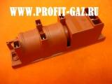 Блок электророзжига газовой плиты Дарина 4-х канальный многоискровой