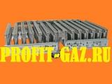 Горелка газовой колонки BOSCH WR 13 (заводской код 87081205410) 14 секций