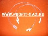 Комплект проводов к разрядникам газовой плиты Дарина (2шт х 320мм, 2шт х 470мм)