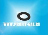 Прокладка клапана газовой части колонки КГИ-56 (20*12*1мм) резина