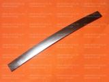 Ручка дверки духовки Гефест-1300, Гефест-1500, Гефест-3300, Гефест-3500, Гефест-6100, Гефест-6300, Гефест-6500, Гефест-ДА602 серебро