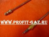 Термопара газовой плиты Гефест-1500, GEFEST-3500, GEFEST-6100, GEFEST-6300, GEFEST-6500, GEFEST-СН2230 длина 400мм для конфорок SOMIPRESS
